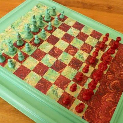 Сделать шахматы своим руками