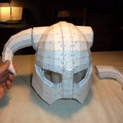 Как сделать из бумаги шлем?