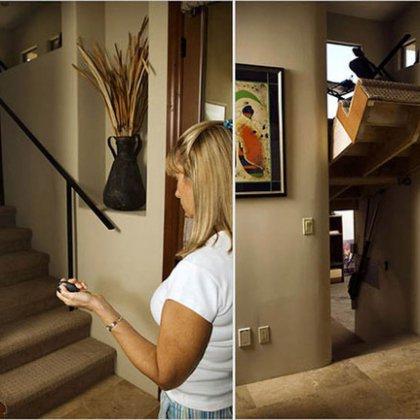 Как сделать потайную лестницу?