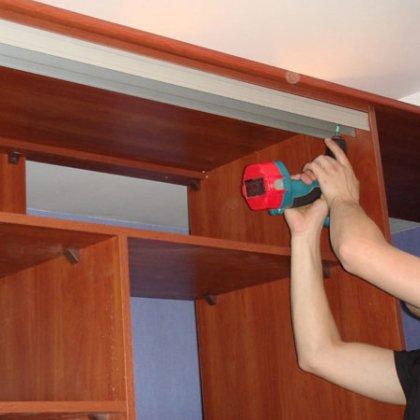 Как собрать шкаф-купе: инструкция по сборке шкафа-купе