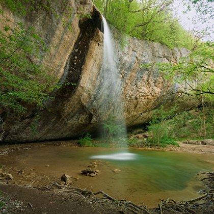 Как добраться до водопада Козырек?