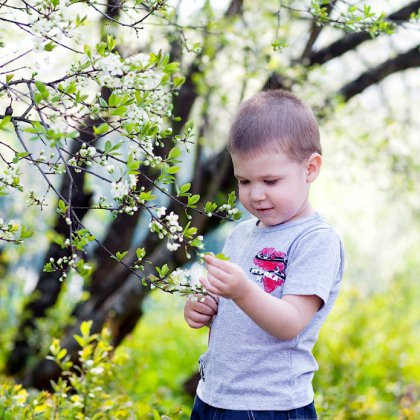 Как спланировать детскую фотосессию до года весной?