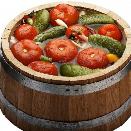 Как заквасить помидоры в бочке?