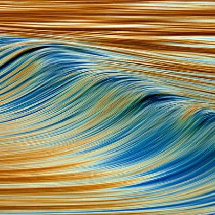 Как сделать волны из бумаги?