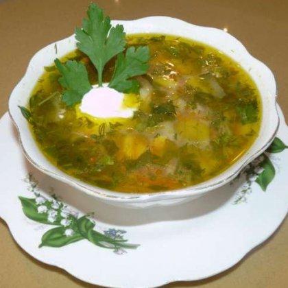 Как готовить суп с щавелем: пошаговое приготовление