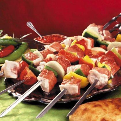 Как сделать шашлык их разных видов мяса?
