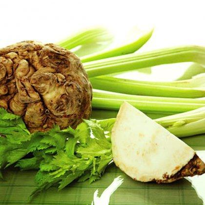 Как готовить корень сельдерея для салата?