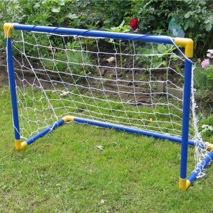 Как сделать ворота для футбола?