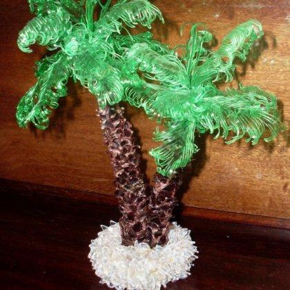 Как сделать пальму из бумаги?