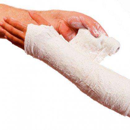 Как снять лангету с руки в домашних условиях
