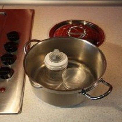 Как обработать соску: время стерилизации