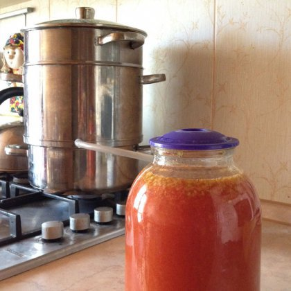 Как правильно варить сок в соковарке на зиму?