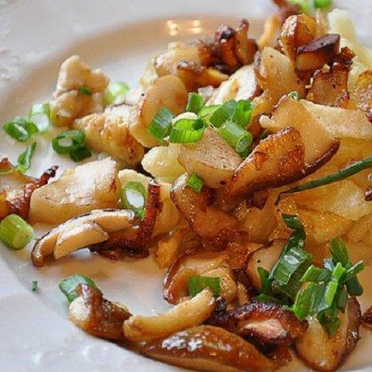 Как пожарить грибы с картошкой; как пожарить подберезовики с картошкой?