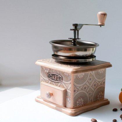 Как помолоть зеленый кофе вручную?