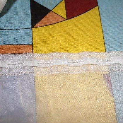 Как сшить занавески из вуали?