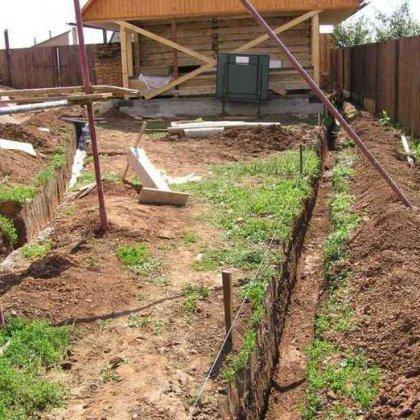 Как подвести в дом воду из колодца: дренаж на даче своими руками