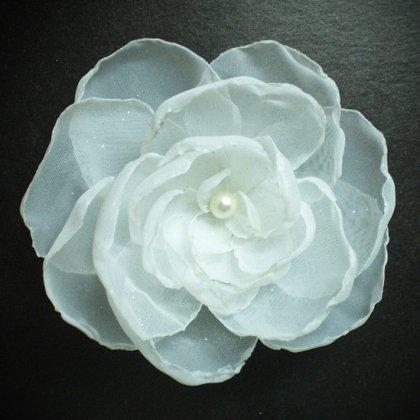 Сделать цветы своими руками из органзы