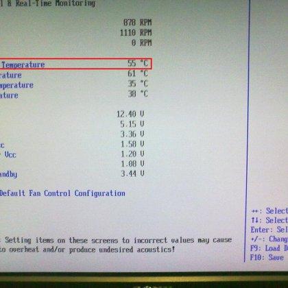 Как узнать температуру процессора?