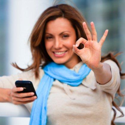 Как отправить поздравительную открытку на мобильный телефон?