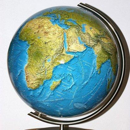 Как определить расстояние по глобусу?