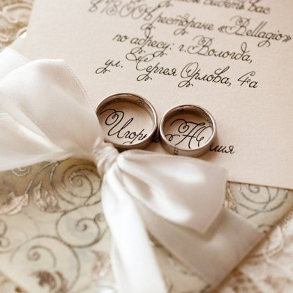 Как подписывать свадебные открытки?