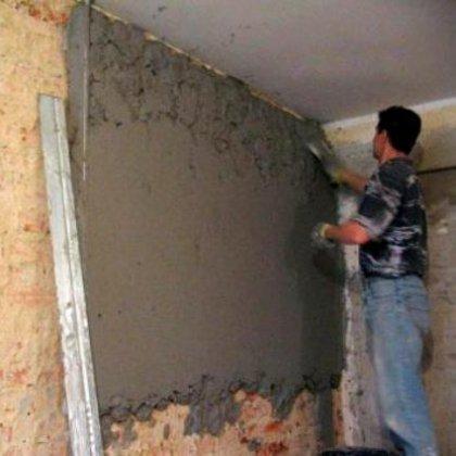 Как правильно штукатурить стены своими руками?