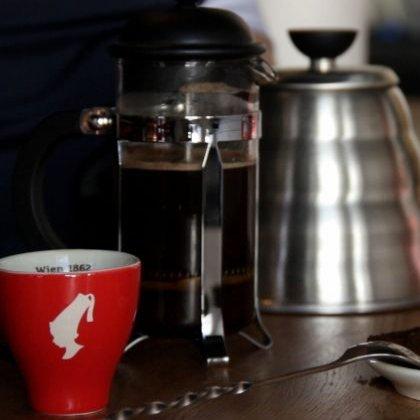 Как варить кофе во френч-прессе?