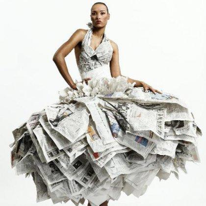 Платье Из Газеты Своими Руками Пошаговая Инструкция - фото 4