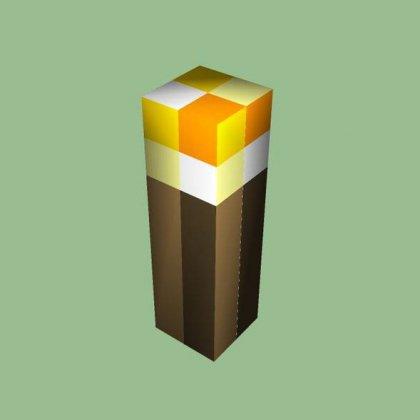 Як зробити факел в майнкрафт