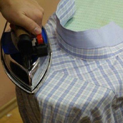 Как правильно гладить воротник?