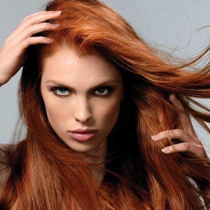Как убрать рыжий оттенок с темных волос?