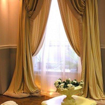 Как повесить шторы с ламбрикеном?