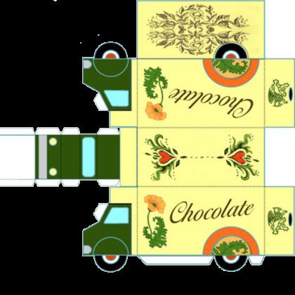 Как сделать грузовик из картона?