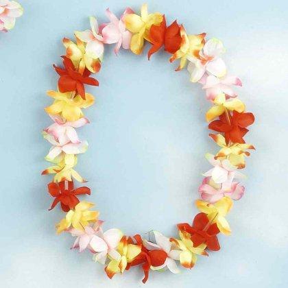 Гавайские ожерелья как их сделать