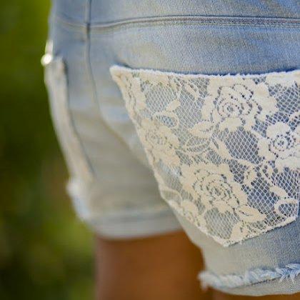 Как можно украсить шорты?