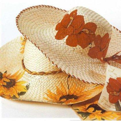 Как сделать соломенную шляпу?