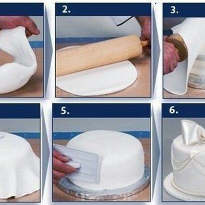 Как сделать белую мастику: полезные советы