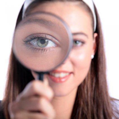 Кто рожал сам с очень плохим зрением