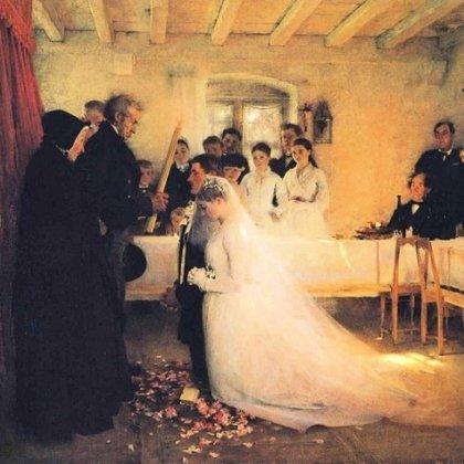 как познакомились перед свадьбой