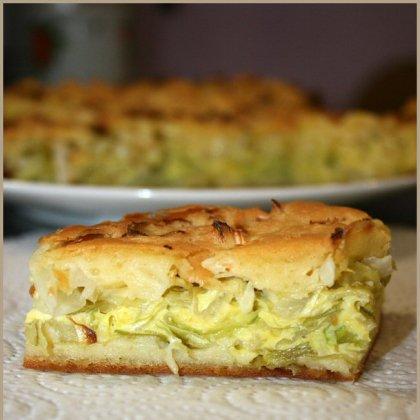 Как приготовить обычный пирог с капустой?