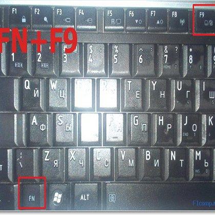 Как включить на ноутбуке сенсорную панель и мышь?
