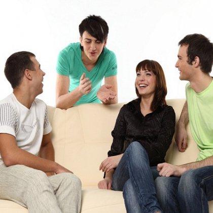 как поддержать разговор с новыми знакомыми