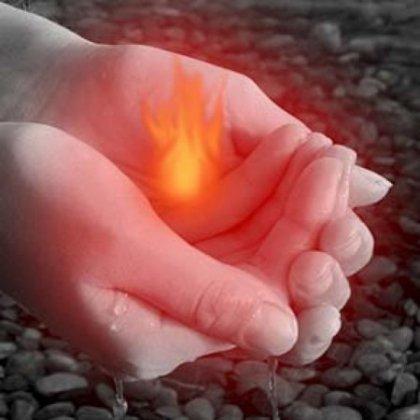 Как сделать холодный огонь: пошаговая инструкция