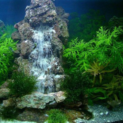 Как сделать водопад в аквариуме?