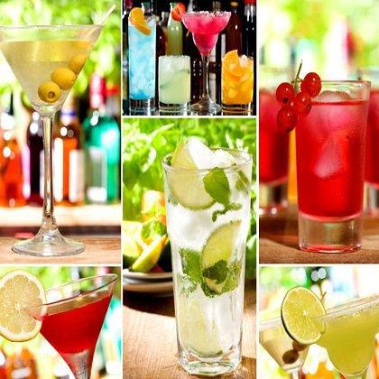 Популярные алкогольные коктейли