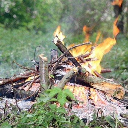 Как тушить огонь: правила тушения костра