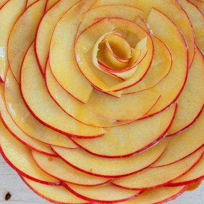 Как красиво порезать яблоко?