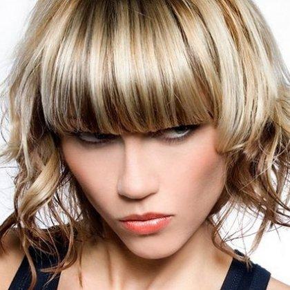 Как быстро сделать укладку на короткие волосы?