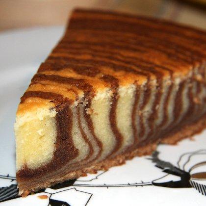 Домашний торт зебра