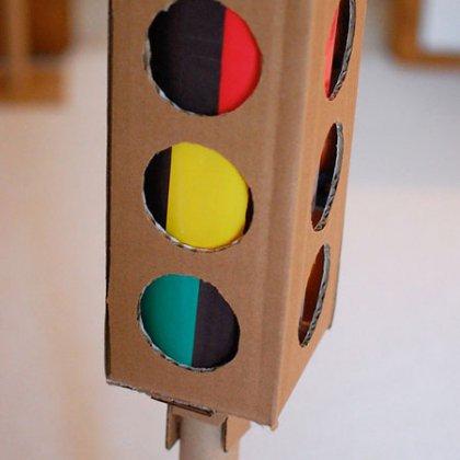 Модели светофора своими руками